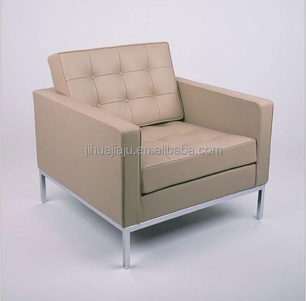 klassischen florence knoll sofa 1 sitz sitzplatz sofa leder 1 sofa wohnzimmer sofa produkt id. Black Bedroom Furniture Sets. Home Design Ideas