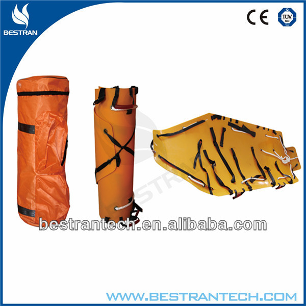 BT-TM002 hospital Medical Multifunction Roll foldaway stretcher