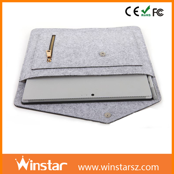 Good Price 8 Inch Felt Notebook Cases Washing Tablet Bags