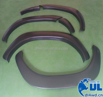 wheel arch fender flares for Hilux Revo without decorative front screws