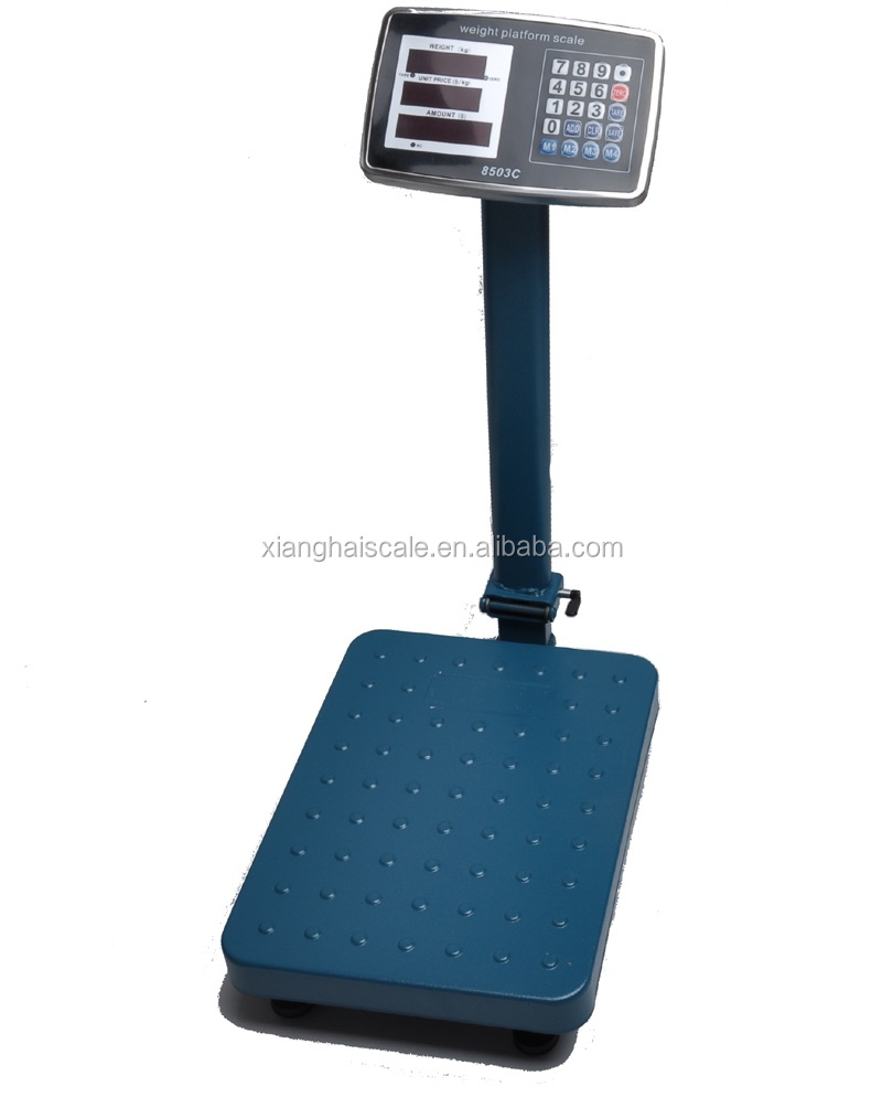 TCS Stainless Steel Electronic Platform Weighing Scale