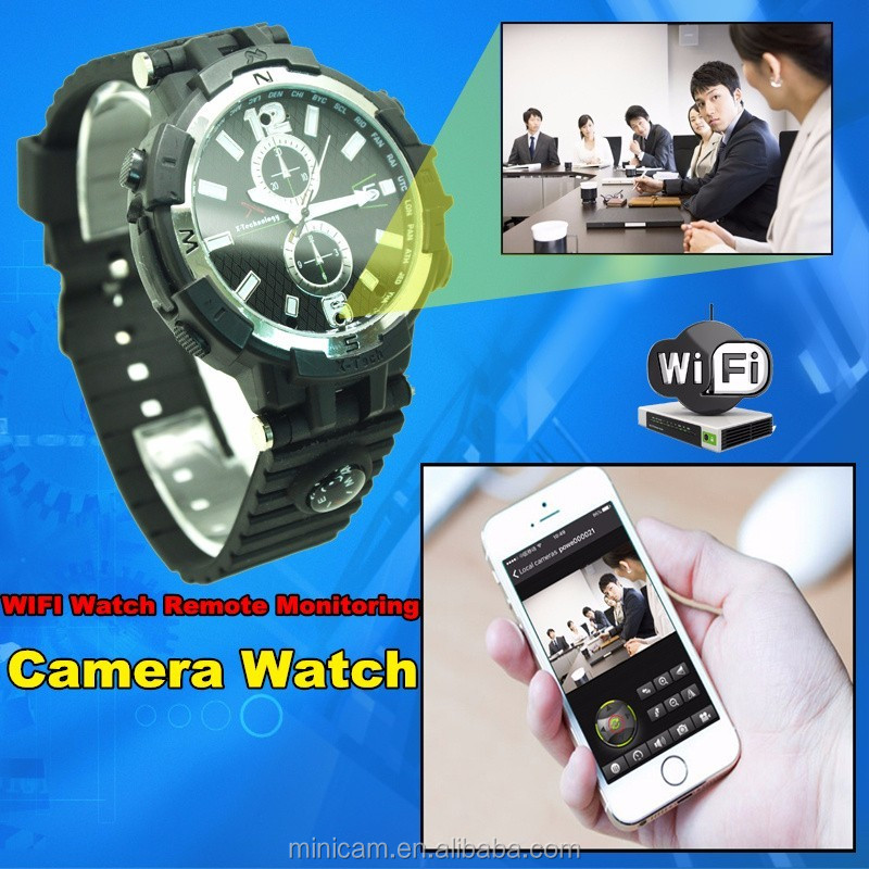 720P night vision ip WIFI wacth hidden video camera