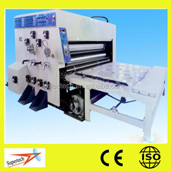 Used Corrugated Carton Box Printing Machine Small