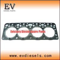 forklift engine SD25 complete gasket kit / full gasket set fit for NISSAN overhauling spare parts