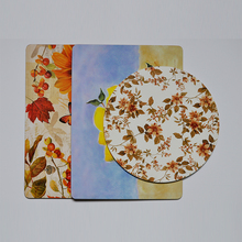 Natural eco-friendly simple disign blank cork coaster
