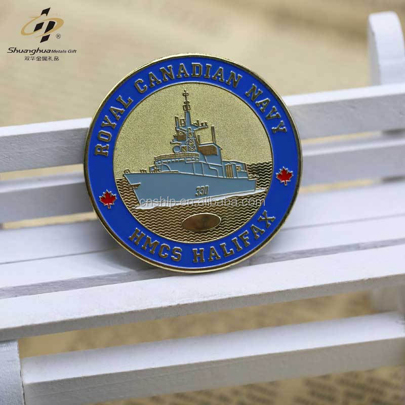 Factory direct old gold metal custom engraved coin