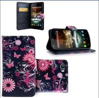Printing PU leather Case for Wiko stairway Cell Phone