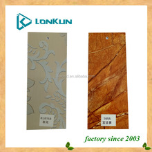 UV board for indoor/interior wall and ceiling decoration use