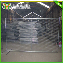 high quality galvanized chain link fence 6ft wire mesh fence for sale