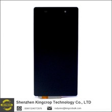 For Sony Xperia Z2 LCD Screen with Frame/Bezel LCD Display Assembly Replacement for Z2