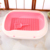 Top Selling Wholesale Cat Litter Toilet Box With Cleaning Scoop