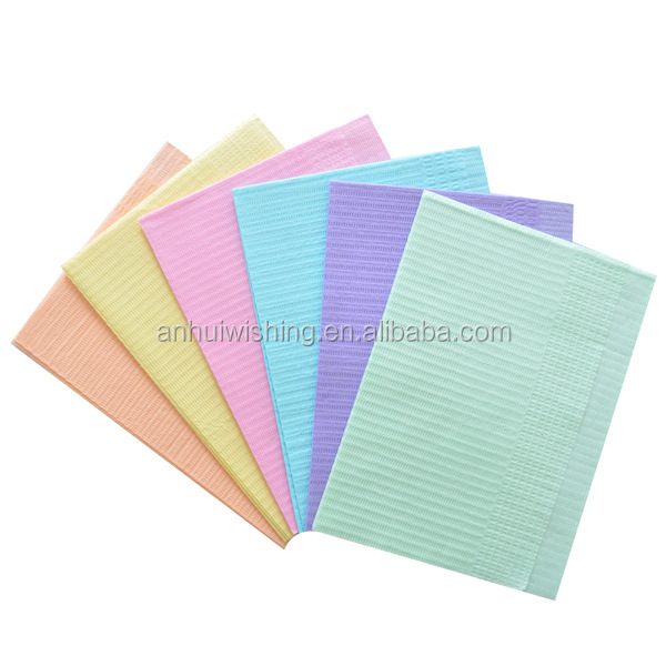 Disposable Adult paper Bibs for Dental Use