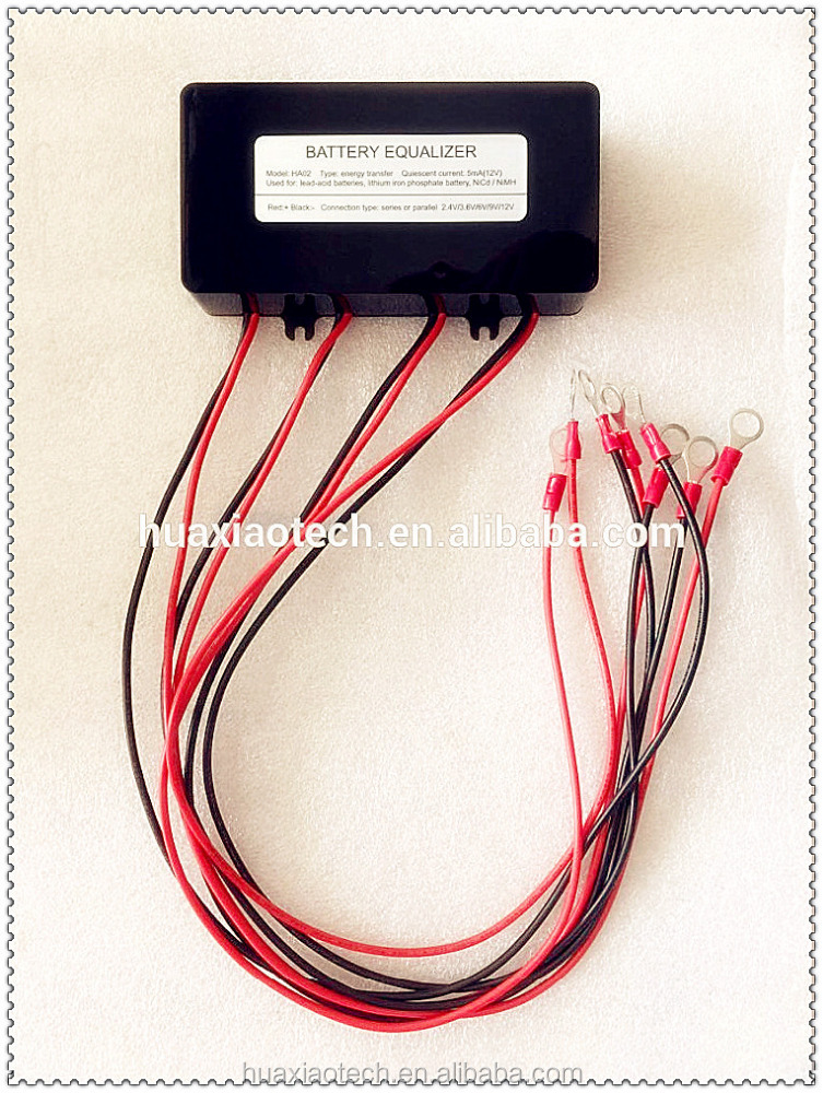 2.4V 3.6V 6V 9V 12V battery equalizer for all kinds of battery