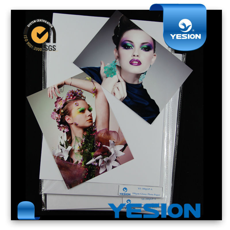 Paper product supplier inkjet printing glossy / matte / rc photo paper