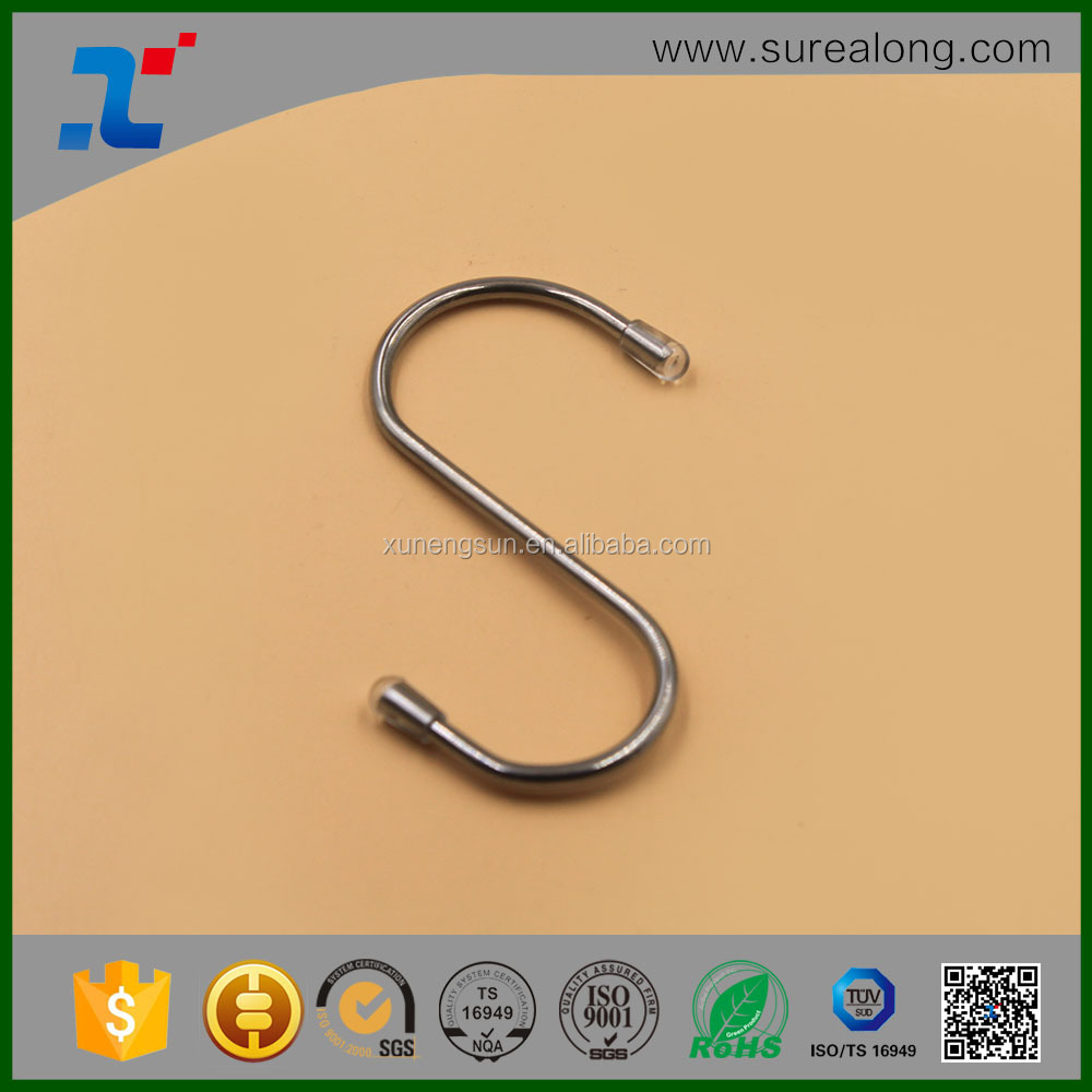 Round metal hanging chrome plated hook