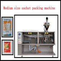 BHS-130 HFFS food powder sachet packing machine