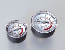 plastic pressure gauge for air compressor