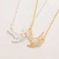 2016 new design wholesale silver gold double animal 925 sterling silver men chain necklaces indonesian jewelry