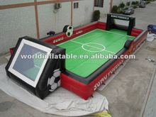 Soap Inflatable water football playground
