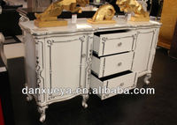 High Quality Hand Painted Antique Chest of Drawers With White Lacquer