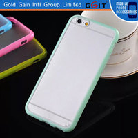 Factory price transparent tpu case for iPhone 6 cover case, for iPhone 6 case tpu material