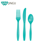 3 in 1 flatware cutlery set disposable cutlery pack with spoon fork knife