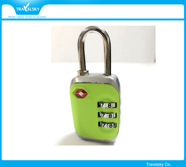 Wholesale customized travel TSA combination padlock,TSA lock