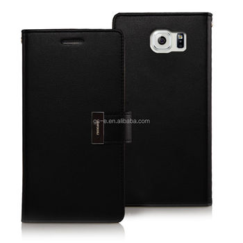 China products leather case,leather case for lenovo a5000,leather phone case top selling products in alibaba Mercury Goospery