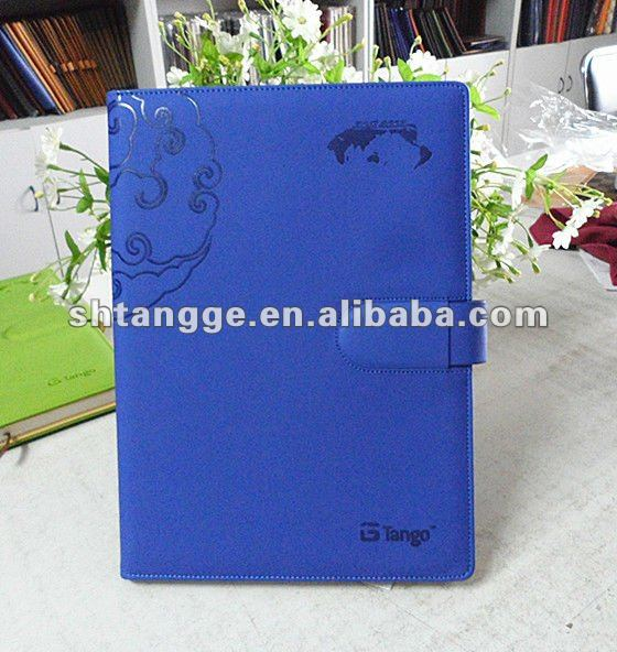 2013 new design high level PU leather agenda
