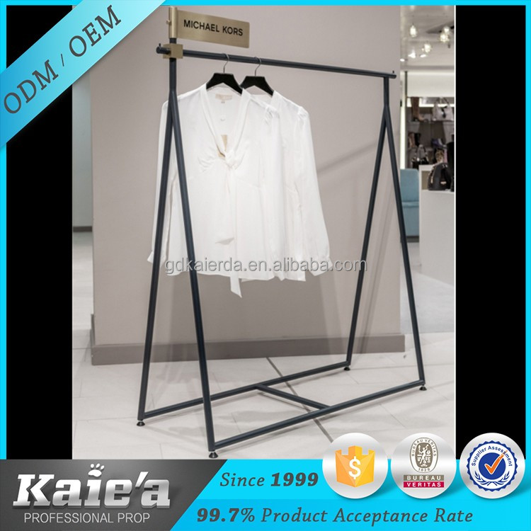 Customized garment store ladies garments display