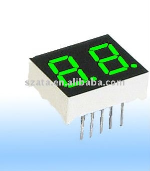 single color one digit outdoor led message boards