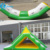 Popular water toys inflatable water floating totter,inflatable water seesaw,inflatable seesaw for kids