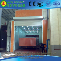 down draft truck spray booth/industrial bake oven bus paint