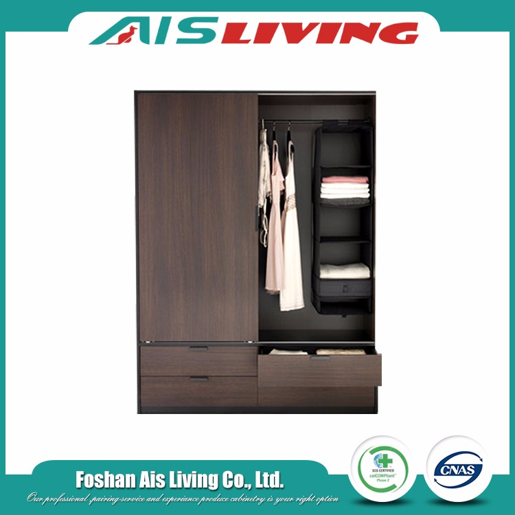 Hot selling latest mdf wood melamine material modular bedroom wardrobe