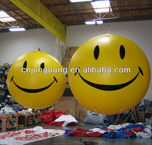 Hot sale big balloon, smile face balloon for sale