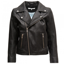 OEM & ODM Guangzhou Factory Zipper New Short Slim Design Leather Jackets wholesale