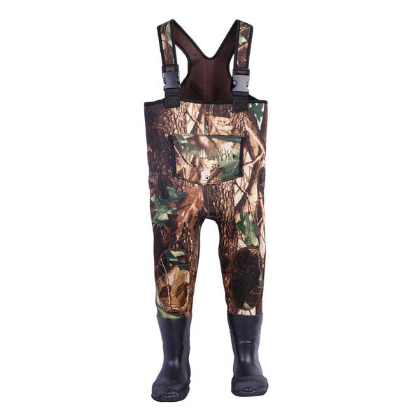 Camouflage Neoprene Fly Fishing Chest Waders 8898C