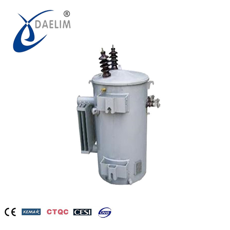 The specification of 11kv 25kva single phase pole mounted transformer