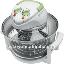 12/17Liters Multi-functional Electric convection halogen glass oven (AH-D11 ) with CE EMC GS LFGB RoHS, A13 APPROVED