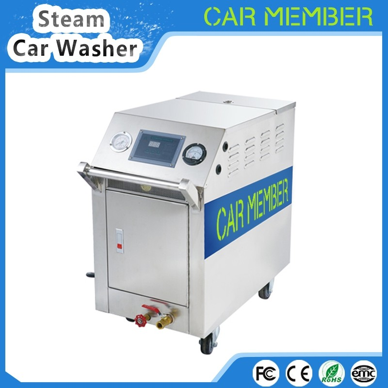 CAR MEMBER steam car wash machine diesel full automatic steam cleaner stainless steel material washing equipment price for sale