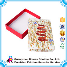 Guangzhou supplier fashion popular special logo design for christmas gift box
