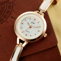 2016 elegance jw brand lady's sliver bangle bracelet watch women dress watch
