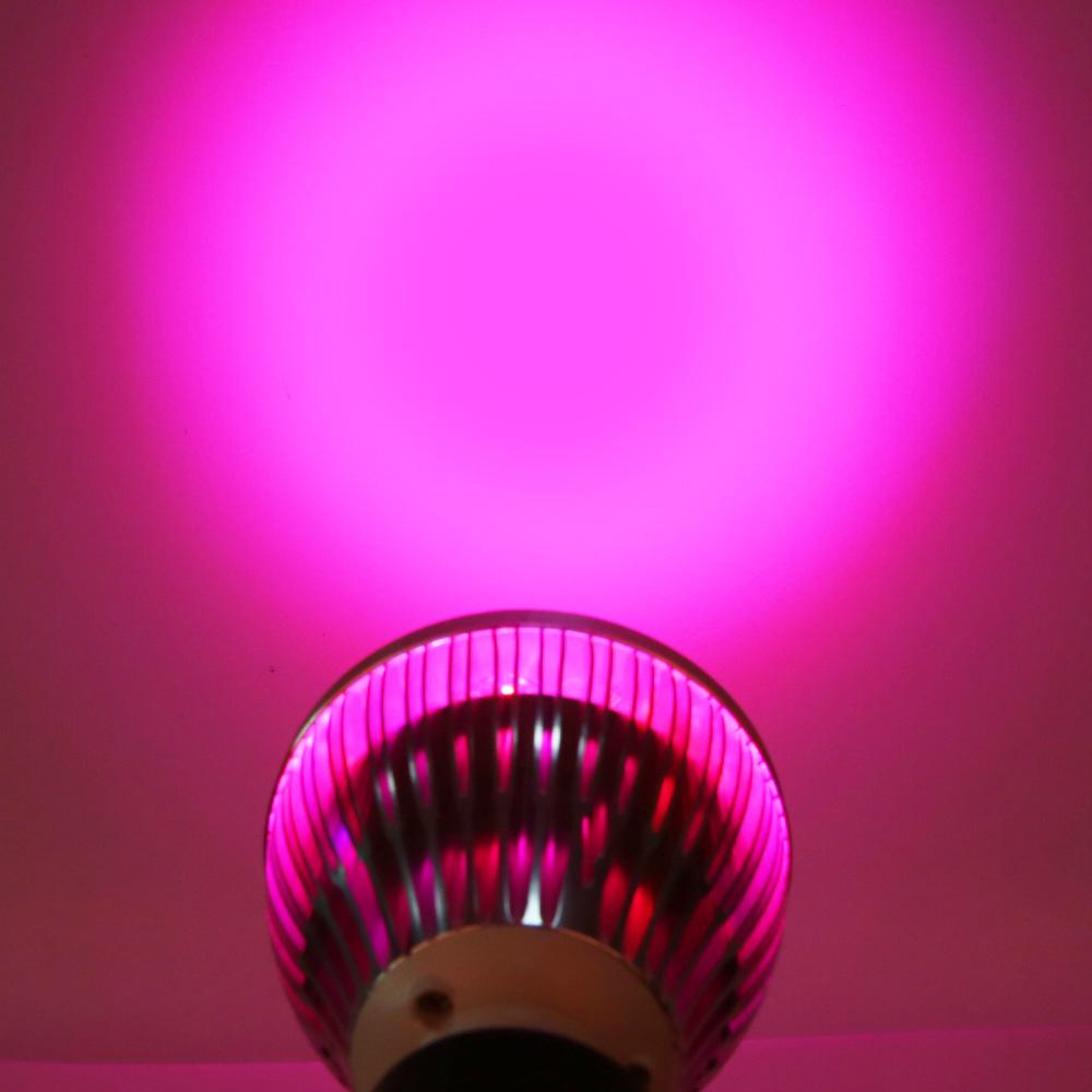 E27 plant grow led Indoor or Desktop Plants LED Grow Light Flexible Lamp LED Plant Growth Light 21W 54W AC85-265V Free shipping (5)