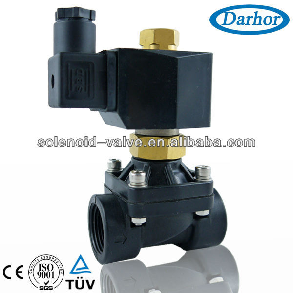 quality assured normally open plastic solenoid valve