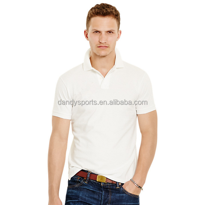 Latest Design 100% Cotton Pique Man Polo t shrit Cheap Custom Polo t shirt For Man From China Wholesale