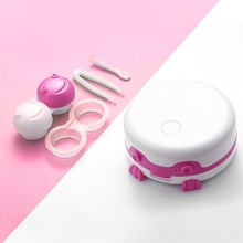 Electric Shake Washing Machine Contact Lens Case