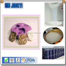 manufacturer of addition rtv liquid silicone of mold making for polyurethane jewelry casting