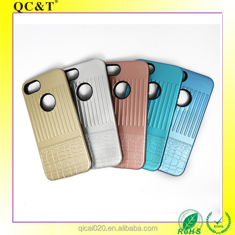 2 in 1 TPU +PC hybrid case Hard phone smart for Iphone 7/7S