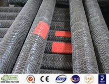 Galvanized hexagonal wire mesh gabion box for protection