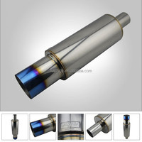 Racing Car HKS Stainless Steel Car Tuning Exhaust Muffler Pipes